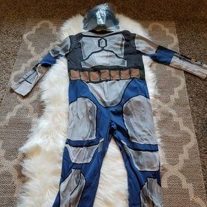 Star Wars Child's Jango Fett Costume Large